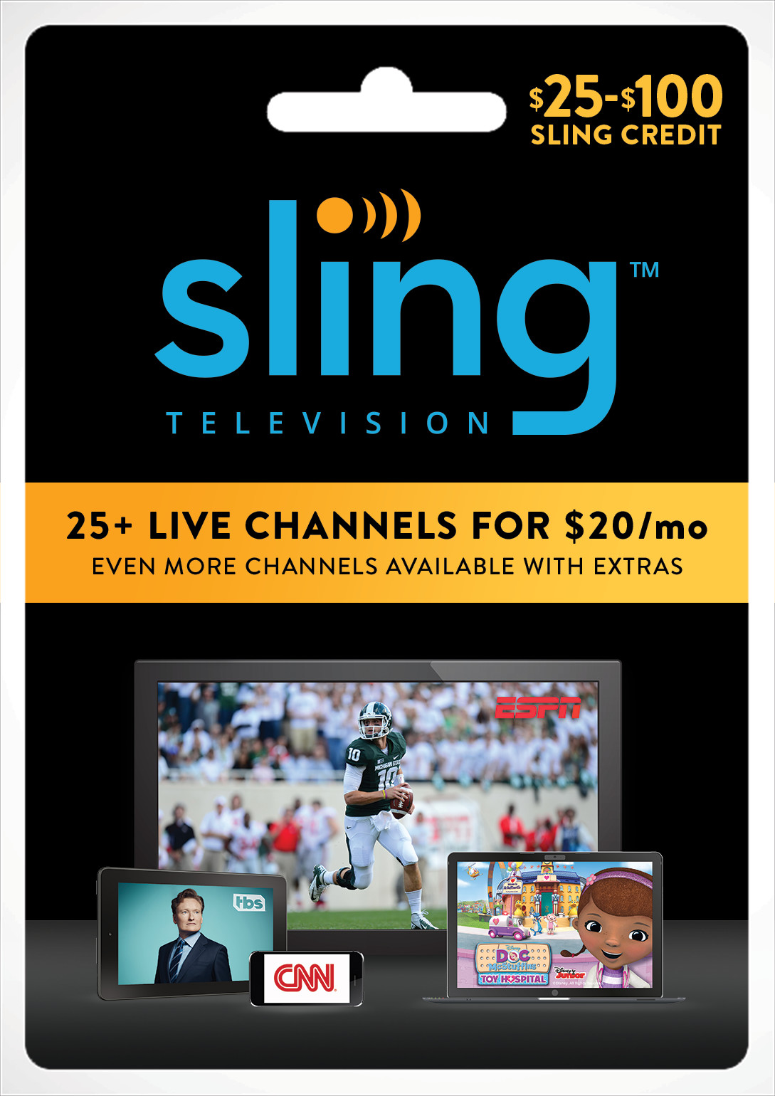Give the Gift of Live Entertainment, Sports, News and More with